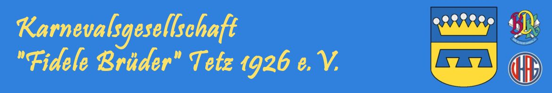 KG Fidele Brüder Tetz 1926 e.V.
